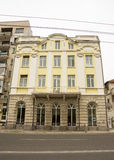 Vecchia e nuova architettura di Bourgas, Bulgaria Immagini Stock