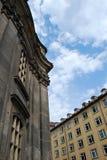 Vecchia e nuova Dresda Immagini Stock