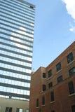 Vecchia e più nuova costruzione Immagine Stock Libera da Diritti