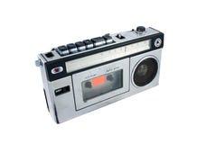 Vecchia e radio d'annata Immagini Stock
