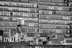 Vecchia ed architettura moderna di New York fotografie stock