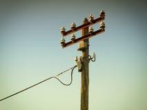 Vecchia elettricità Fotografia Stock Libera da Diritti