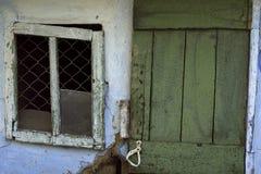 vecchia entrata Fotografia Stock