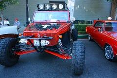 Vecchia esposizione di automobili Fotografia Stock