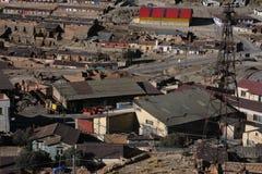 Vecchia estrazione mineraria in Potosi Immagini Stock Libere da Diritti