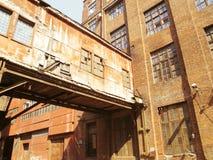 Vecchia fabbrica Immagini Stock Libere da Diritti