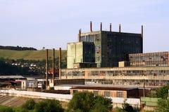 Vecchia fabbrica Fotografie Stock