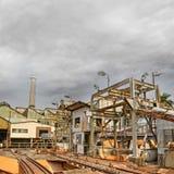 Vecchia fabbrica Fotografia Stock Libera da Diritti