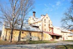 Vecchia fabbrica di birra Fotografia Stock Libera da Diritti