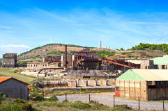 Vecchia fabbrica di estrazione mineraria Immagine Stock Libera da Diritti