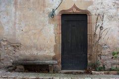 Vecchia facciata Fotografia Stock Libera da Diritti