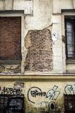 Vecchia facciata Fotografia Stock