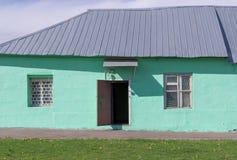 Vecchia facciata della casa fondo, architettura immagine stock libera da diritti