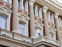 Vecchia facciata della costruzione Immagine Stock