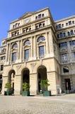 Vecchia facciata edificio di Avana Fotografia Stock