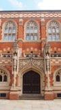 Vecchia facoltà teologica a Cambridge, Inghilterra immagine stock