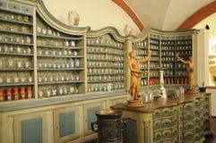 Vecchia farmacia Fotografie Stock Libere da Diritti