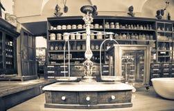 Vecchia farmacia Fotografia Stock