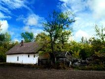 Vecchia fattoria Fotografie Stock