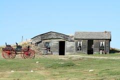 Vecchia fattoria Immagine Stock Libera da Diritti