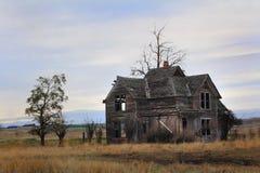 Vecchia fattoria di frontiera fotografia stock