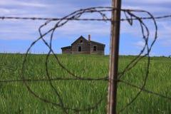 Vecchia fattoria rurale Fotografia Stock Libera da Diritti