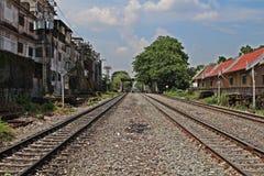 Vecchia ferrovia 2 Fotografia Stock