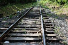 Vecchia ferrovia Fotografie Stock