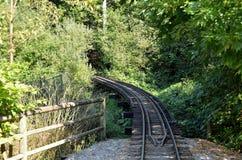 Vecchia ferrovia Fotografia Stock Libera da Diritti