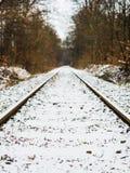 Vecchia ferrovia di industria carboniera fotografia stock libera da diritti