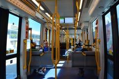 Vecchia ferrovia G - Queensland Australia della luce della costa Fotografie Stock