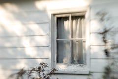 Vecchia fine della finestra di stampa offset in su Fotografie Stock Libere da Diritti