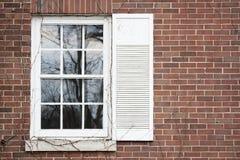 Vecchia finestra fotografia stock