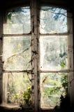 Vecchia finestra Immagini Stock Libere da Diritti