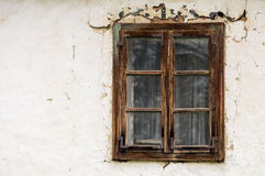 Vecchia finestra Immagine Stock Libera da Diritti