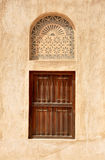 Vecchia finestra araba Fotografie Stock Libere da Diritti