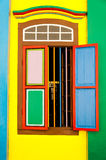 Vecchia finestra classica buona per il forum e l'avviso Fotografie Stock