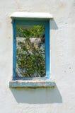 vecchia finestra del blocco per grafici Immagine Stock