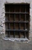Vecchia finestra del metallo Fotografia Stock Libera da Diritti