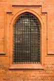 vecchia finestra del metallo nero Immagini Stock Libere da Diritti
