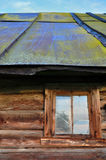 Vecchia finestra della Camera Fotografia Stock Libera da Diritti