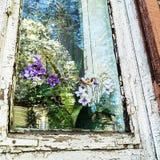 Vecchia finestra della Camera Immagine Stock Libera da Diritti