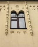 Vecchia finestra della costruzione Immagine Stock Libera da Diritti