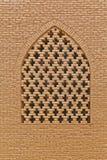Vecchia finestra della moschea di Nain Fotografia Stock Libera da Diritti