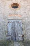 Vecchia finestra di legno Fotografia Stock