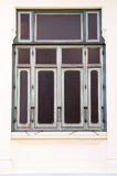 Vecchia finestra di vetro Fotografia Stock