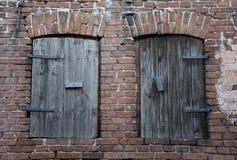 Vecchia finestra due Fotografia Stock