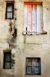 Vecchia finestra italiana Immagine Stock