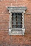 Vecchia finestra italiana Immagini Stock Libere da Diritti