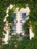 Vecchia finestra in Valldemossa Immagine Stock Libera da Diritti